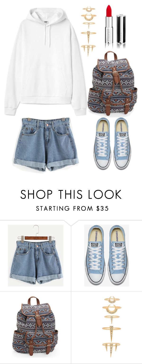 """lotto//liberato"" by wanderlustpan ❤ liked on Polyvore featuring Aéropostale, Luv Aj and Givenchy"