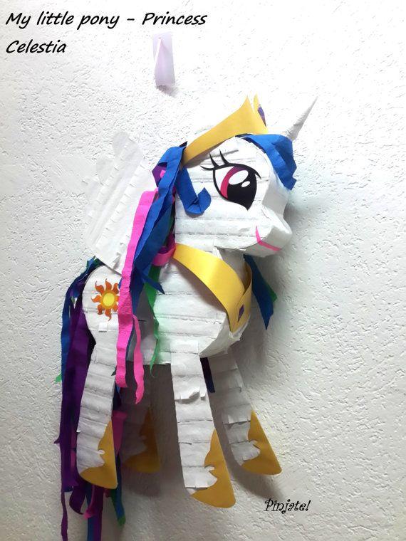 Mi pequeño pony  princesa CELESTIA piñata regalo de