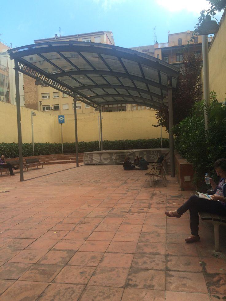 Public patio at Casa Elizalde