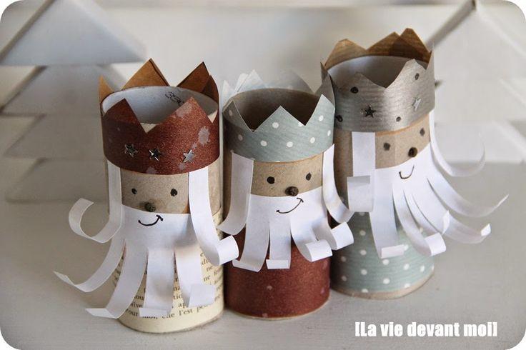ekoDziecko.com: Trzej królowie z rolek po papierze