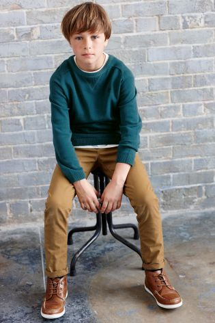 Buy Basic Crew Neck (3-16yrs) from the Next UK online shop