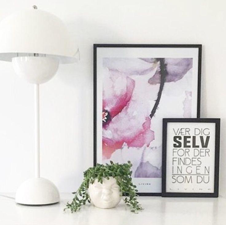 Limited edition plakat og moodcup fra Livink #Blossom #Poster #Moodcup #Livink