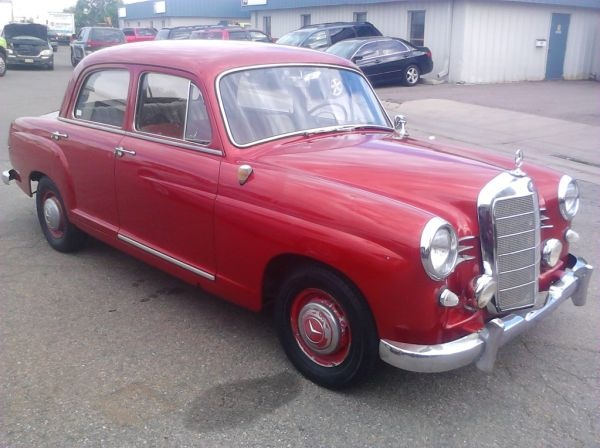 1958 Mercedes 180