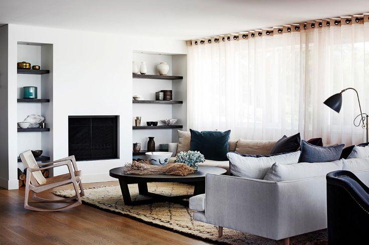 Belle Magazine / home on Sydney's North Shore, designed by Justine Hugh-Jones and architect Ben Vitale