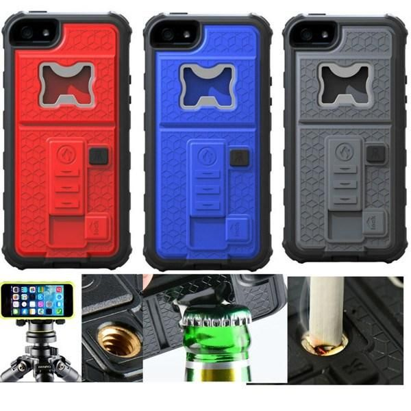 Wholesale Lighter Phone Case - Buy Lighter Phone Case for Apple Iphone 5 5s Back Cover Luxury Skin Camera Bracket /Cigarette Lighter/ Bottle Opener with $4.71 | DHgate