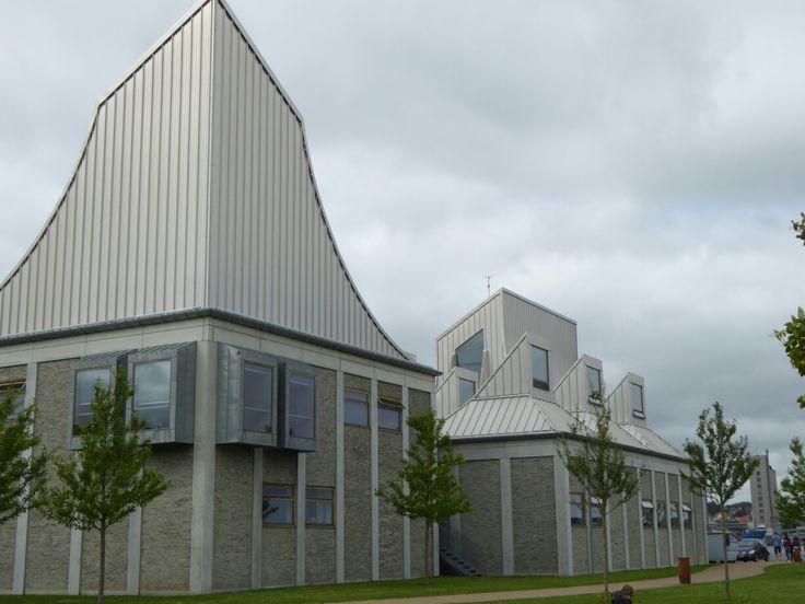 Utzon Centre, Aalborg by Jorn Utzon