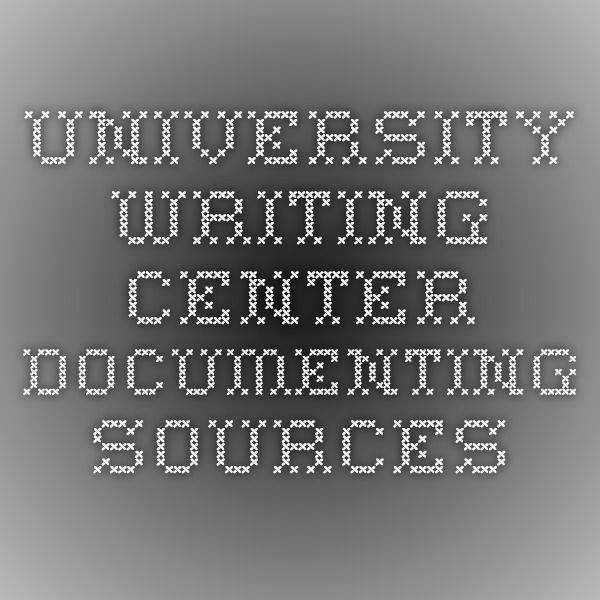 Writing documenting an mla research paper