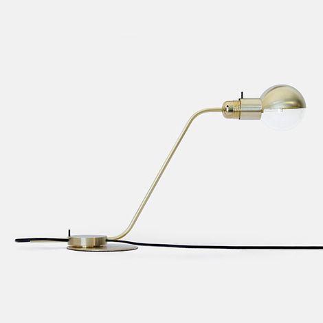 Brass Achille Castiglioni lamps