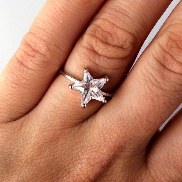 Like a Star <3 #inel #argint #stea