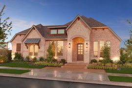 Viridian: Arlington, TX Drees Custom Homes Manor Series Model Home From the 410s