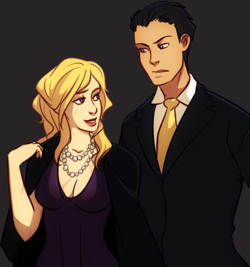 Damian Wayne And Stephanie Brown