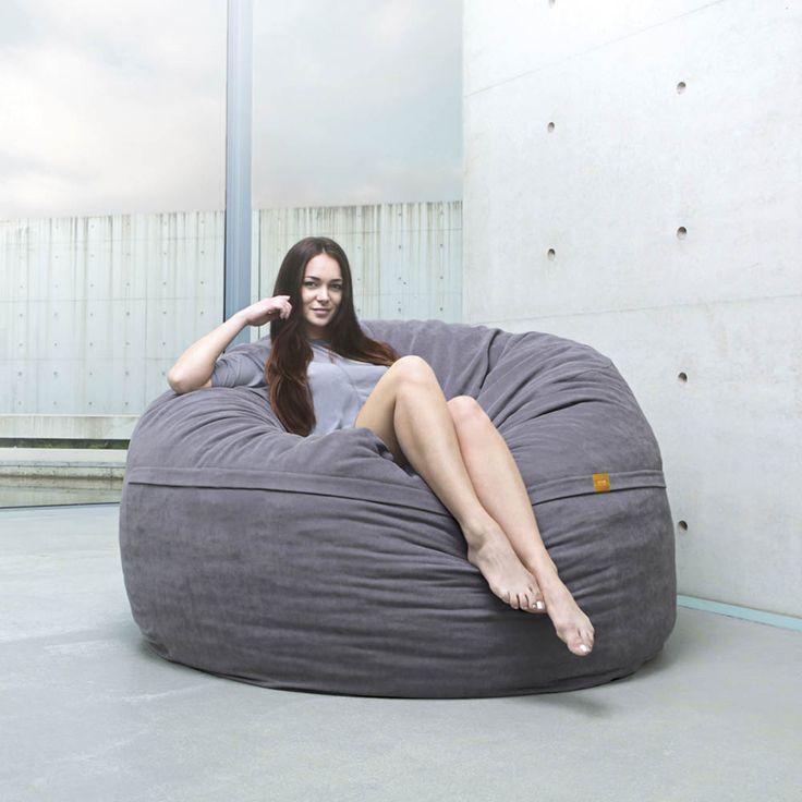 17 meilleures id es propos de pouf g ant sur pinterest un pouf diy tricot pouf et diy. Black Bedroom Furniture Sets. Home Design Ideas