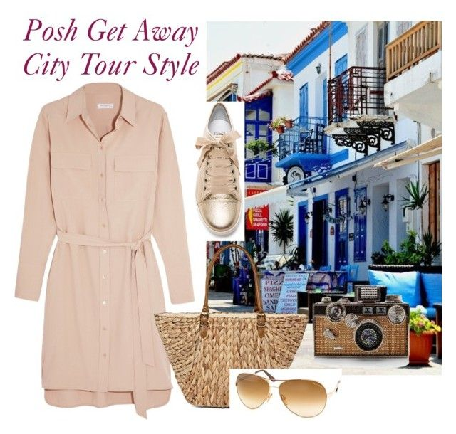 """""""City Tour Style"""" by oripandora on Polyvore featuring Equipment, Lanvin, Straw Studios and Tom Ford"""
