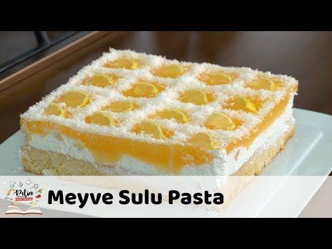 Muhtesem kremali meyveli çok ama çok kolay pasta - YouTube