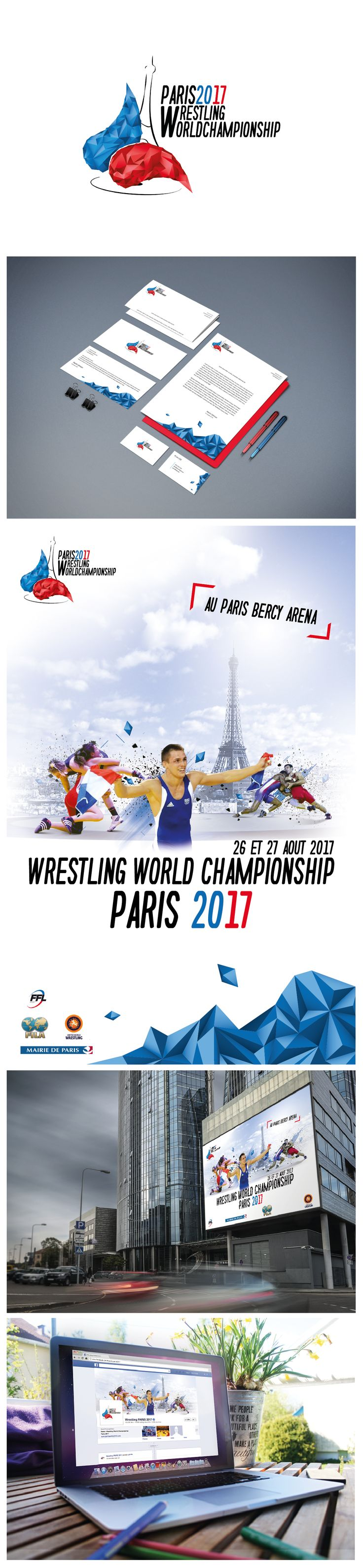 Wrestling World Championship - Paris 2017 (visuels non officiels) #wrestling #lutte #sport #worldchampionship