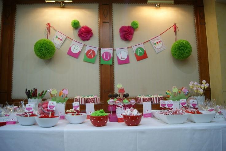 mesas dulces decoradas para eventos caperucita cupcakes mesas de postres pinterest mesas