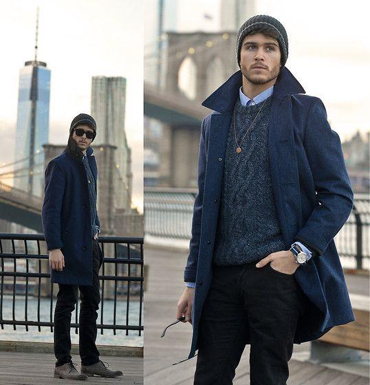 Adam Gallagher - Coat, Asos Sweater, Giorgio Brutini Darth Shoes - Freedom