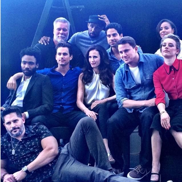 Cast Magic Mike XXL