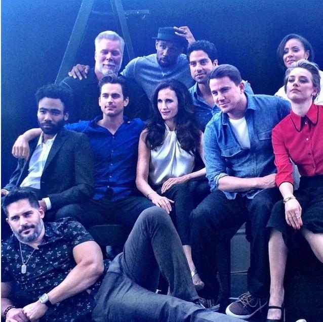 Cast Magic Mike XXL