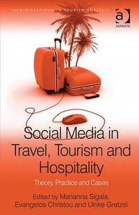 Tourism ebook of the day: Social Media in Travel, Tourism and Hospitality by Christou - Key reading for many Tourism, Hospitality and Events modules, and available to read right now on the Library Catalogue.    The Business Blog @ Sunderland University Library
