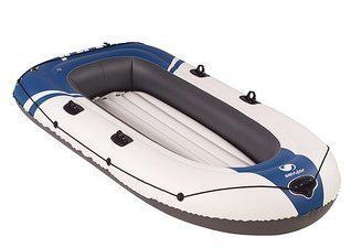 Sevylor Specialists 4-Person Inflatable Boat. Extra Strong Inflatable Dinghy For Fishing, Sports, Rapids & Fun!! Sevylor Inflatable Boats Have 4 Air Chambers In Case of A Puncture. Inflatable Rafts/Inflatable Baots Are Loads Of Fun For All The Family.