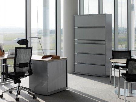 Металлические шкафы для оптимизации офисного пространства #офис #мебель #интерьер #дизайн