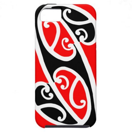 Maori Kowhaiwhai Pattern 2 - iPhone 5 Case