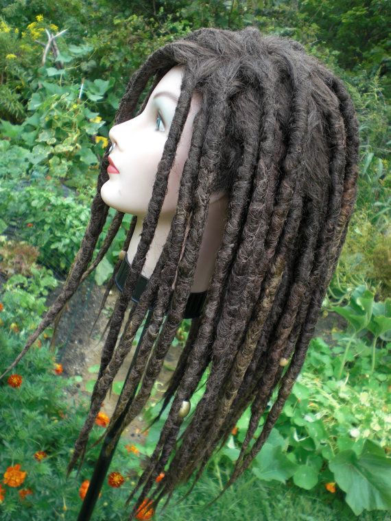 Custom Full Dread Wig Realistic Hand Crocheted Synthetic