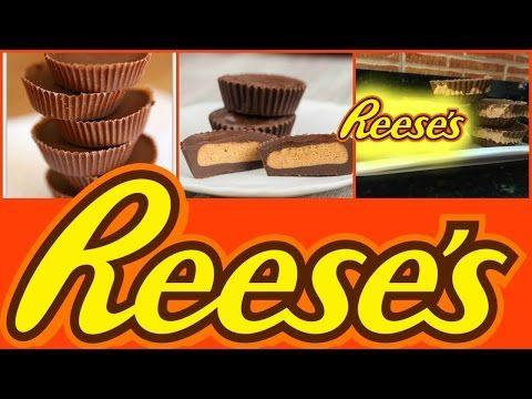 Chocolatinas con Crema de Cacahuete o Reeses Peanut Butter Cups - YouTube