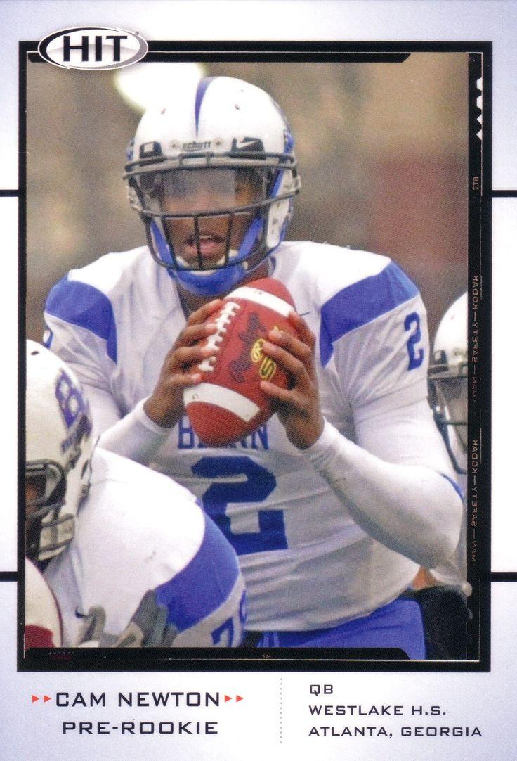 Cam Newton Carolina Panthers Football cards, Cam