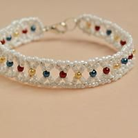 Wanna seed beads bracelet? See here and follow me to check how to make handmade seed beads bracelet with colorful pearl beads.