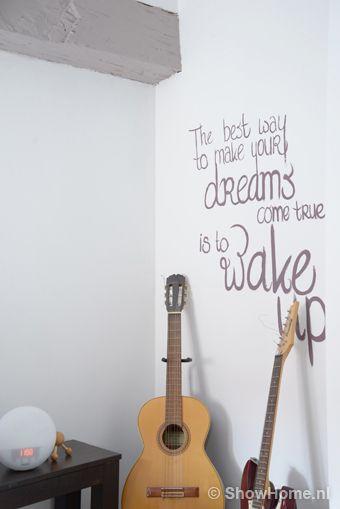 slaapkamer quote