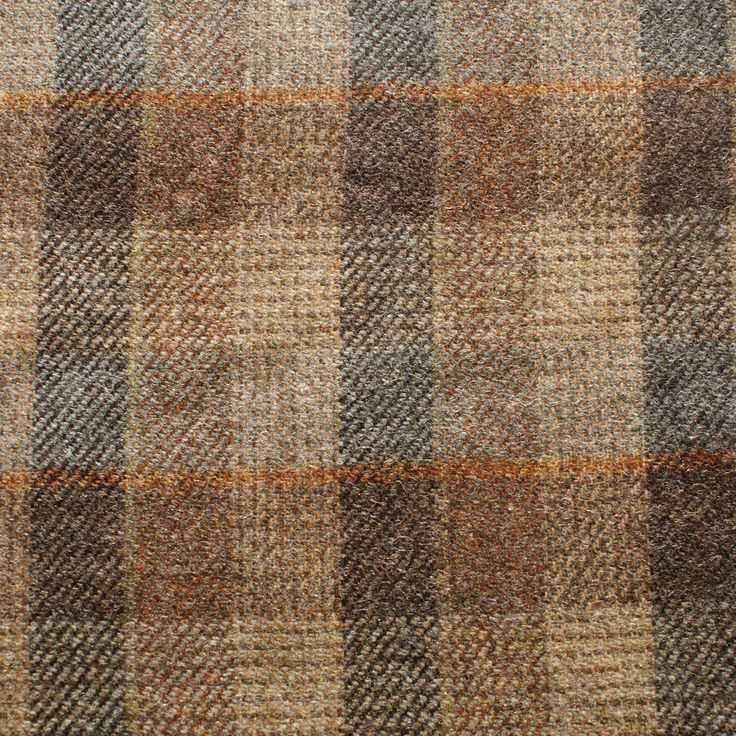 Wool Check (2.80m for £33.57) - Robert Noble