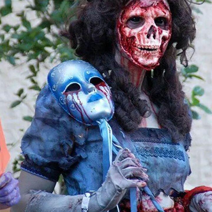 17 Best images about Halloween ideer on Pinterest Horns, Halloween - terrifying halloween costume ideas