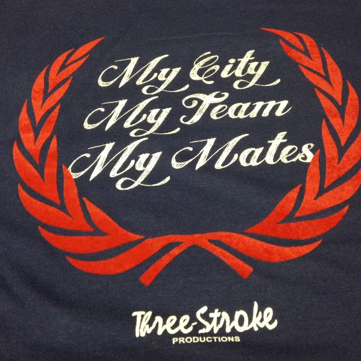 My City My Team My Mates #threestroke