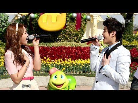 ▶ Yo-seop and Eun-ji - Love Day (Music Core 20120407)
