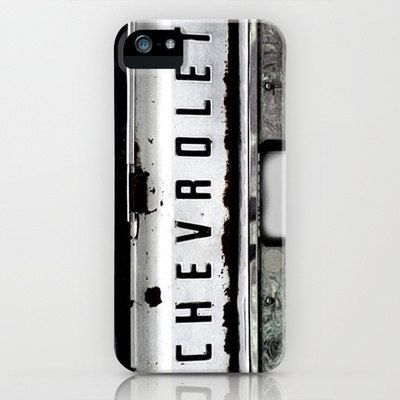 iPhone vintage chevrolet truck case by AmyFewellPhotography
