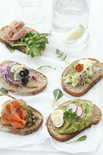 クッペやブール、全粒粉入りなど、パンの種類をいろいろと取りそろえるだけでも選ぶ楽しみが増えます。