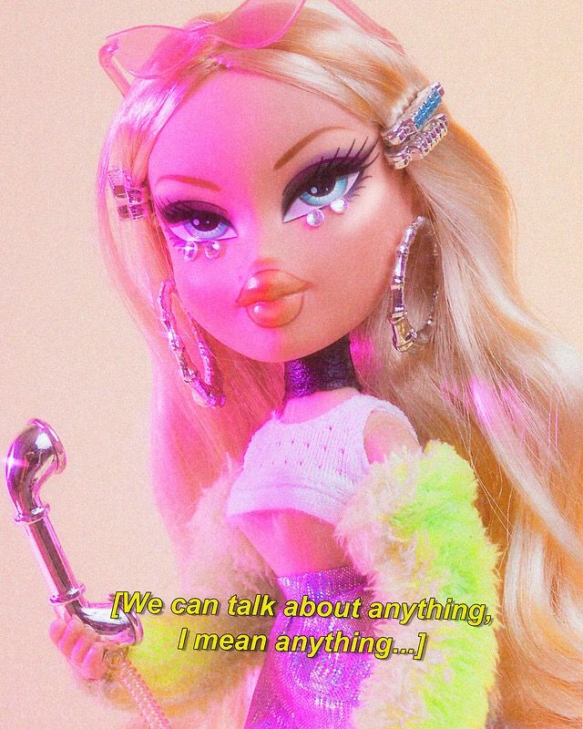 Pin By Julia On Bratz Style Pink Aesthetic Brat Doll Bratz