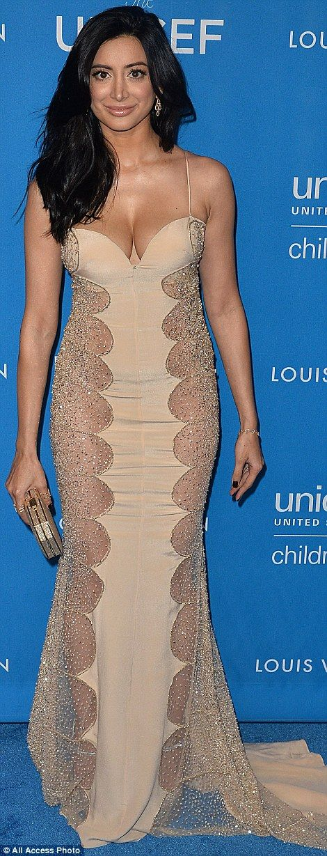 A star-studded affair: Actresses Noureen DeWulf and Camilla Belle were also at the event...