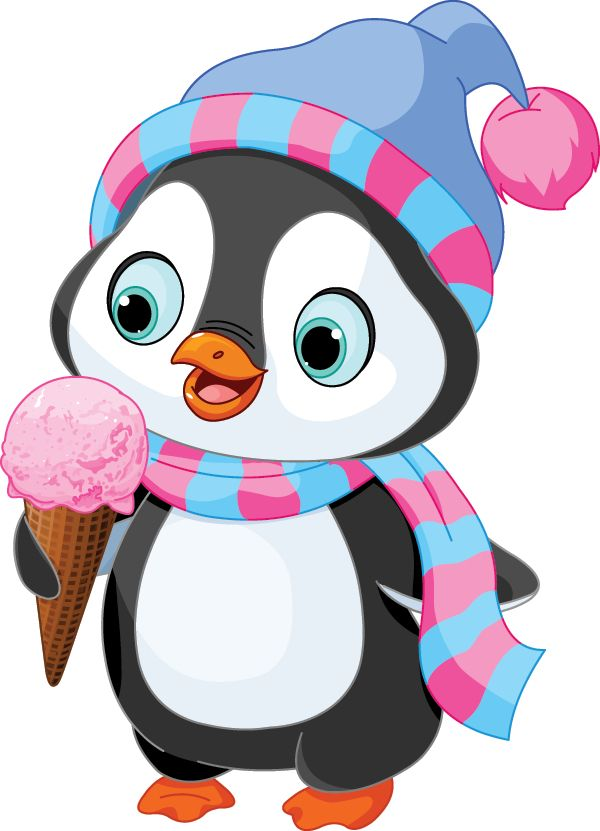 Penguin-with-Ice-Cream