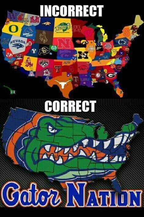 Memes about the Florida Gators Gator Nation memes Gator memes Nation memes college football teams college football Gator memes