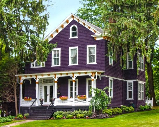a painted victorian in chatham and more houses for sale purple housesexterior designexterior