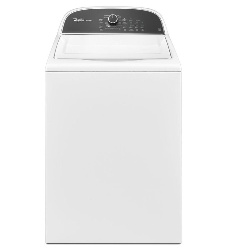 Whirlpool® Cabrio® 3.8 cu. ft. HE Top Load Washer with Precision Dispense (WTW5500BW White)  