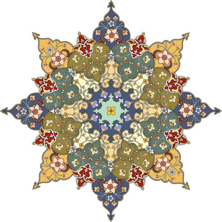 63-Floral Pattern (Khatai)