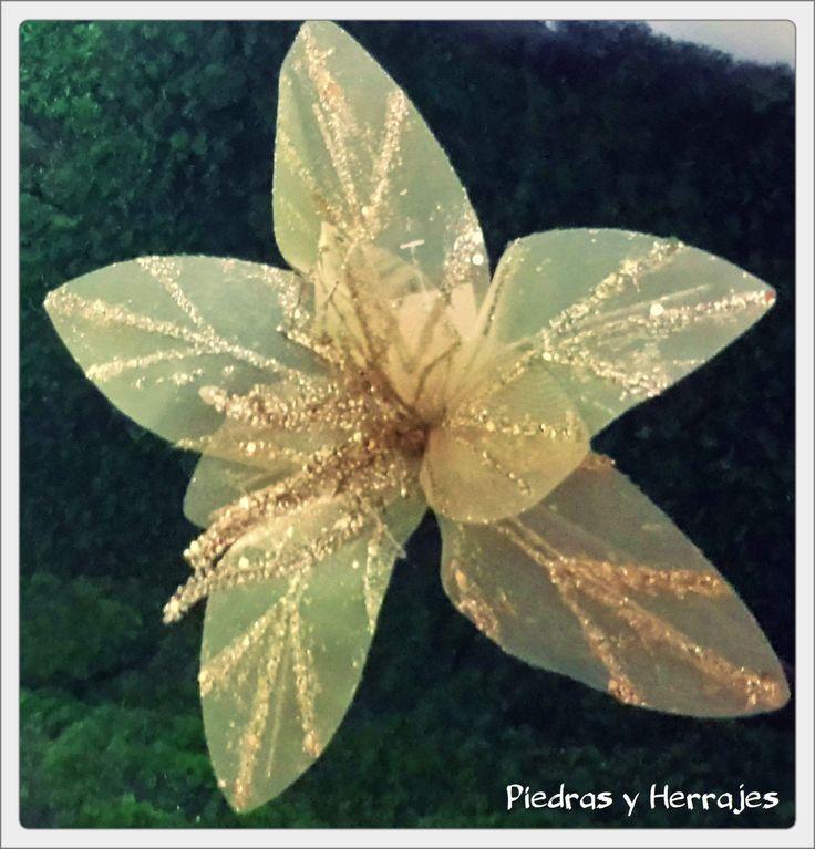 Flor Tull Dorado  Ref: 485-2082  Tel.511 78 17 Cel.3127994768 Medellín-Colombia