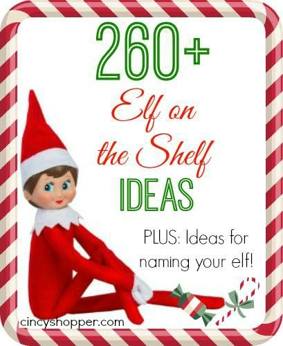 260 + Elf on the Shelf Ideas Clothing, FREE Printables