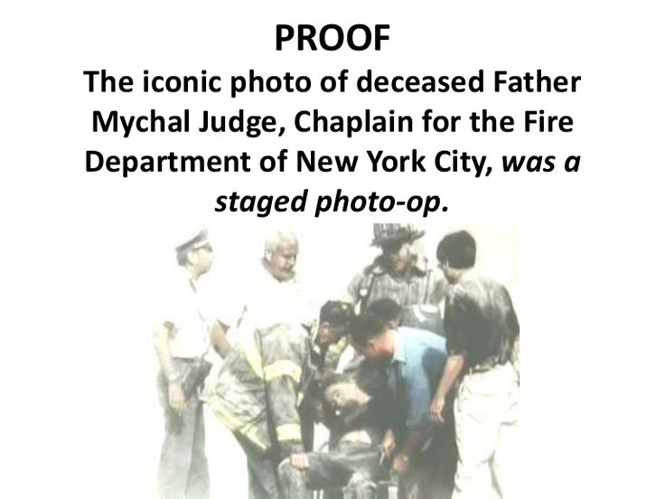 More truth about what really happened on 9/11.  The death of Father Judge, chaplain for the New York Fire Department and how it was a staged photo-op for propa…