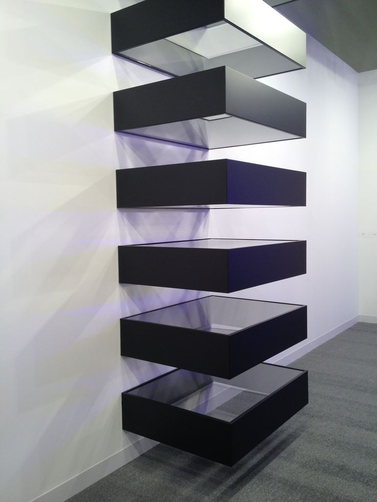 Donald Judd - one of my all-time favourites, saw this at Dubai art Fair