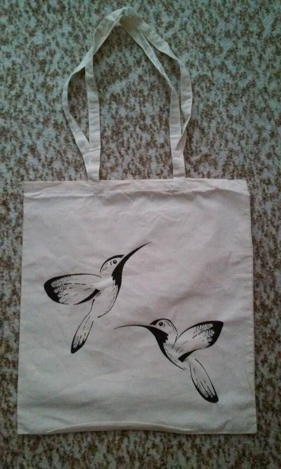 Kolibříková plátěnka